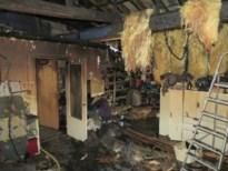 Brand verwoest achterbouw van kapperszaak in Mopertingen