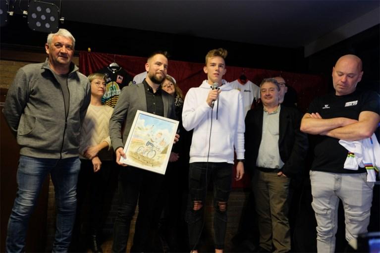 Gemeente Tremelo huldigt Thibau Nys voor wereldtitel bij de junioren