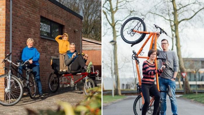 """Limburgse tandemrijders: """"Een fiets voor twee is gezellig en intiem"""""""