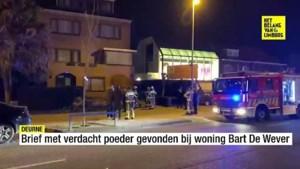 Brief met verdacht poeder gevonden bij woning Bart De Wever
