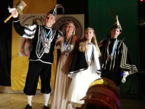 Sander en Zita vormen jeugdprinsenpaar in Kanne