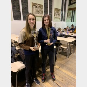 Limburgse meisjes scoren op Vlaamse jeugdschaakkampioenschappen