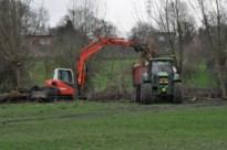 Berwijnbeek in Moelingen bereikt alarmpeil