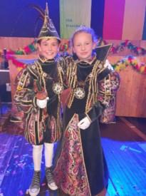 Kai I en Lieze I jeugdprinsenpaar bij de Kèsinger Ertesjieters