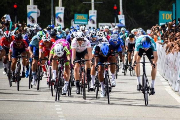 Maleisische spurter is Duitser Max Walscheid te snel af in Ronde van Langkawi