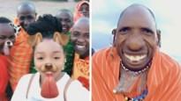 Hilarisch: Afrikaanse stam leeft zich uit met Snapchatfilters