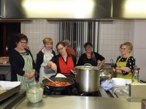 Markant leert Italiaans koken