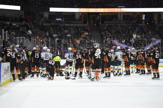IJshockeyvedette Jay Bouwmeester krijgt hartaanval tijdens wedstrijd terwijl hij op de bank zit