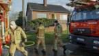 Asbestdak vat vuur in Lummen