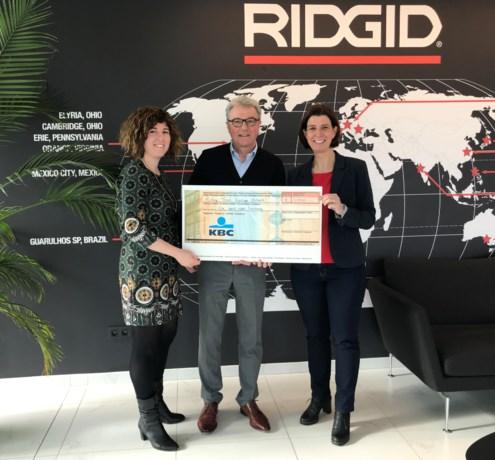 RIDGID kookt 4.000 euro bij elkaar
