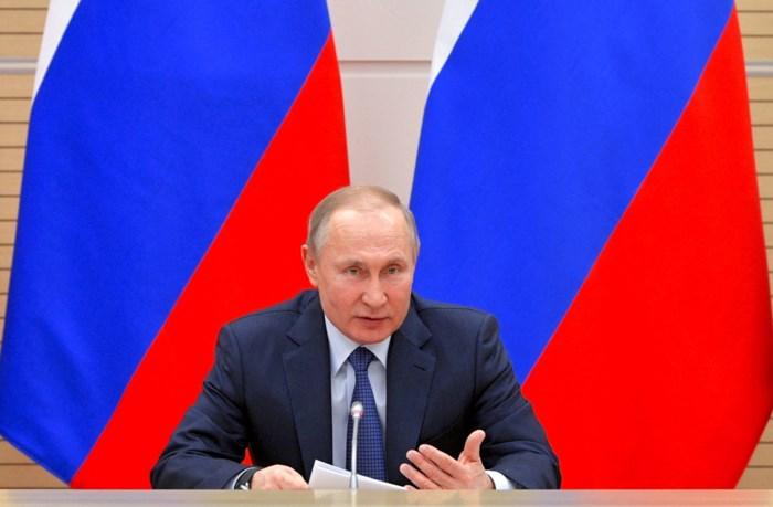 Putin sluit de deur voor homohuwelijk, zolang dat hij president is