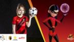 Belgische voetbalbond wil met behulp van Disney meisjes aan het voetballen krijgen