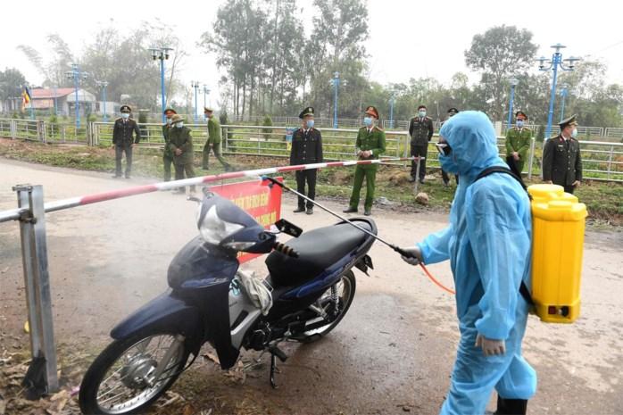 Eerste dorp in quarantaine in Vietnam door corona