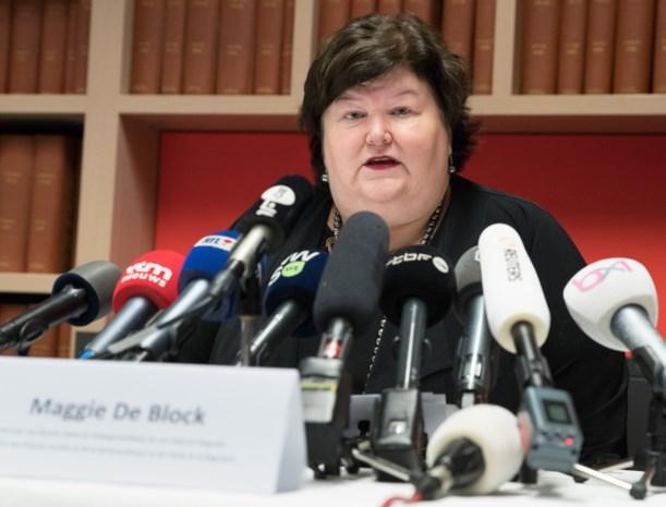 """Maggie De Block: """"Coronavirus is geen reden tot paniek, maar we moeten alert blijven"""""""