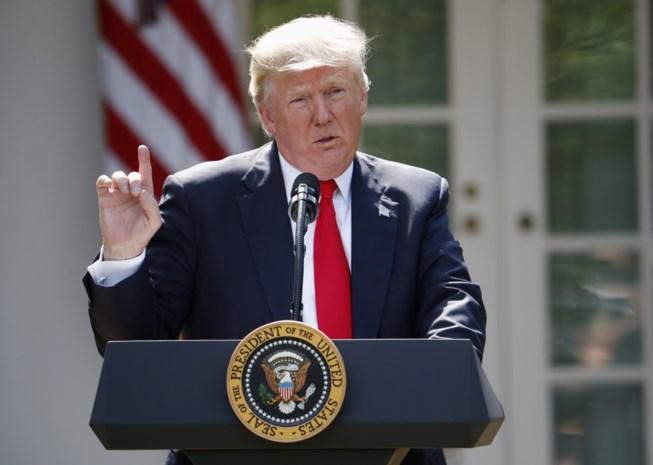 """Trump: """"VS zijn dicht bij akkoord met taliban"""""""