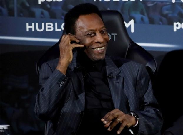 """Pelé spreekt tegen dat hij depressief zou zijn: """"Ik heb gewoon goede dagen en dagen waarop het niet zo goed gaat"""""""