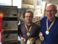 Guido en Paul halen samen 13 medailles op WK Siervogels