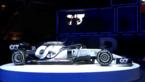 AlphaTauri stelt haar eerste F1-bolide voor
