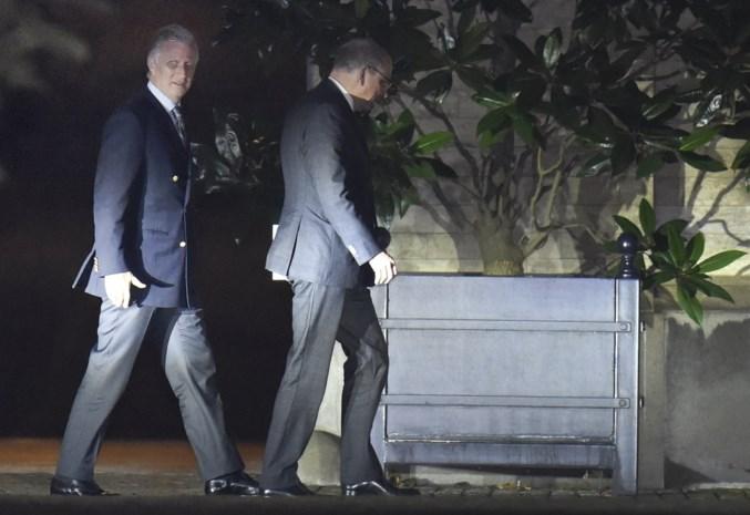 Partijvoorzitters worden maandag op het paleis verwacht