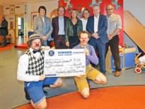 Kiwanis Diepenbeek steunt Cliniclowns in Jessa met 14.500 euro