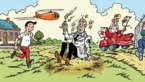 Jarige Suske en Wiske op nieuwe sticker van Rode Kruis-Vlaanderen