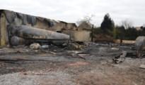 Uitslaande brand vernielt loods in Rukkelingen-Loon