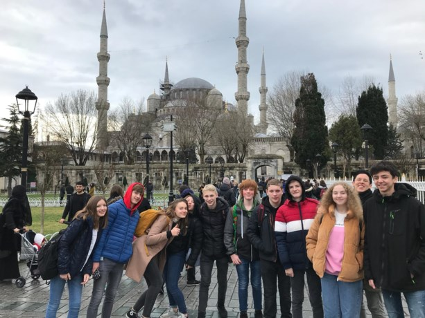 Erasmus in Istanbul voor 10 leerlingen Campus Russelberg