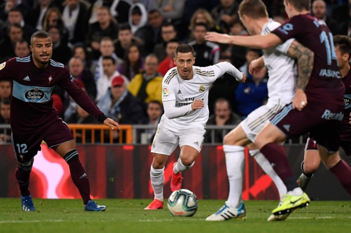 Real Madrid kan niet winnen ondanks vinnige Hazard en magistrale redding Courtois