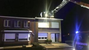 Storm Dennis blaast twee daken weg in Riemst