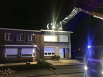 Storm Dennis blaast twee daken weg in Bolder