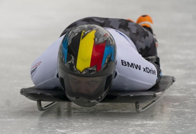 Kim Meylemans knap vijfde op EK skeleton