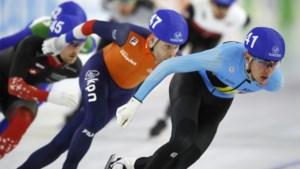 Bart Swings valt naast podium op WK schaatsen