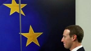 """EU waarschuwt Zuckerberg: """"Tijd van 'gentlemen's agreements' is voorbij"""""""