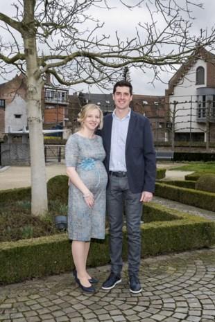 Aline en Martijn in Bree
