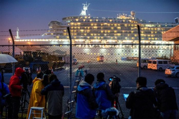Net geen honderd nieuwe gevallen van coronavirus op cruiseschip in Japan