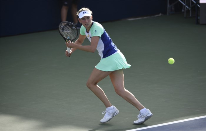 Elise Mertens stoot vlot door naar tweede ronde in Dubai