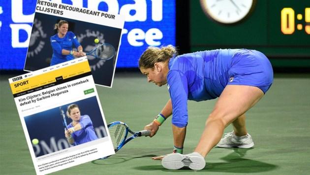"""Internationale pers lovend over Kim Clijsters: """"Ze is nog steeds wereldklasse"""""""