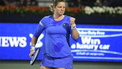 Zoveel verdiende Kim Clijsters ondanks nederlaag in Dubai