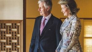 Koning Filip bezoekt incognito Paleis in Diepenbeek