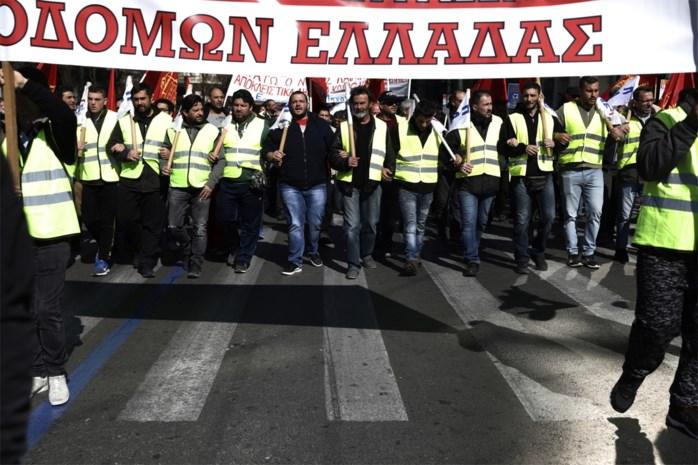Griekenland kleurt fluogeel: stakingen leggen openbare leven helemaal plat