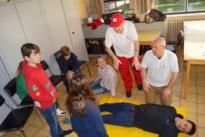 Veertig kinderen leren eerste hulp verlenen