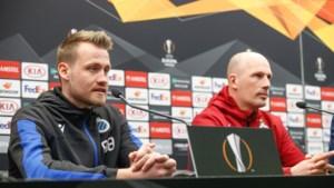 """Mignolet en Clement op druk bijgewoonde persconferentie Club Brugge: """"Verademing om nog eens in Europa te spelen"""""""