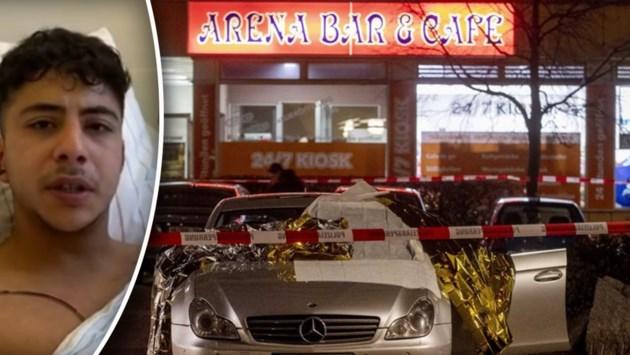 """Ooggetuigen van schietpartij in Duitsland: """"Hij schoot mijn vriend in het hoofd"""""""