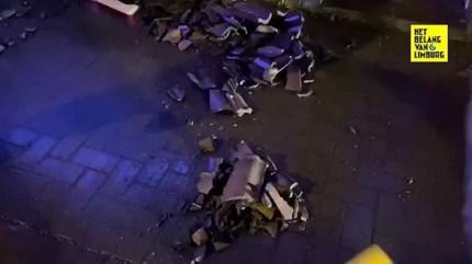 """Wind vernielt zeven daken op """"vijf seconden"""" in Briegden"""