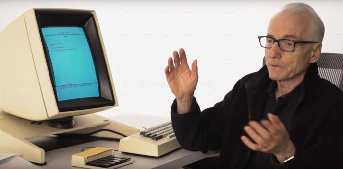 De man achter copy-paste overleden