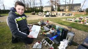 Nieuwjaarsbrief van Alexander (10) voor overleden peter is weer terecht