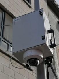 Mobiele camera tijdens stoeten en om sluikstorten tegen te gaan