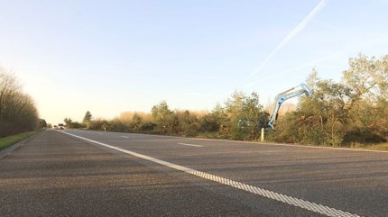 Letterzetter slaat weer toe: negen hectare bos gekapt langs Noord-Zuid