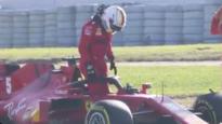 Ferrari en Red Bull in de problemen tijdens F1-test, Mercedes opnieuw snelste