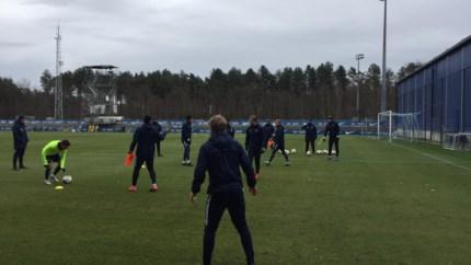 KRC Genk alweer op het trainingsveld: Hannes Wolf zet reservespelers op scherp